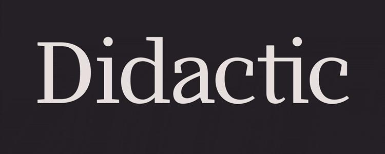 Didactic Regular