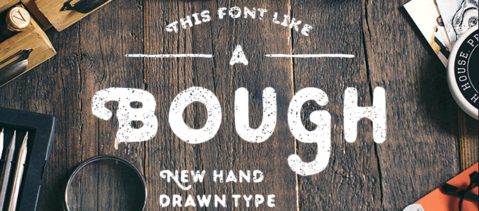 Bough - Hand-Drawn Typeface