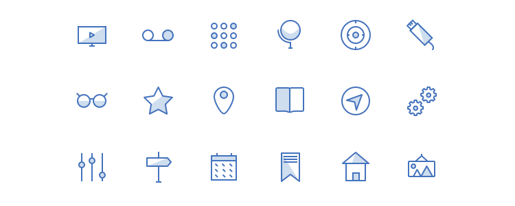 Blunicons Essentials Icons