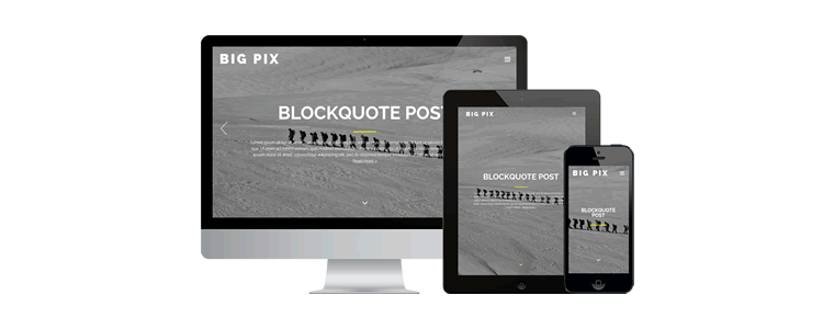 Big Pix Theme