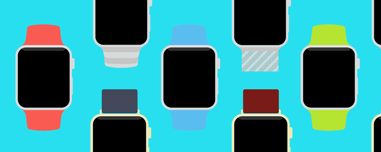 Apple Watch Flat Template
