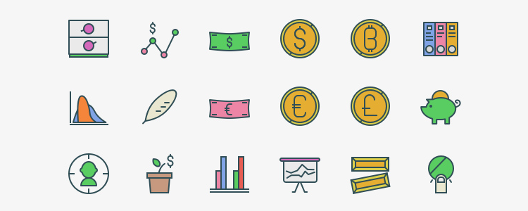 104x3 Marketing Swifticons 100 Icons, EPS, PNG & SVG