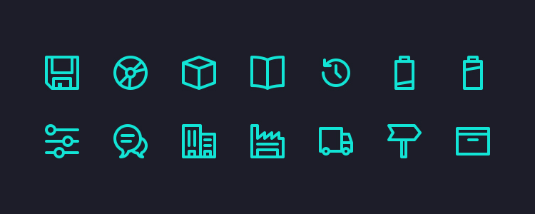 Micons 231 Icons, AI, SVG