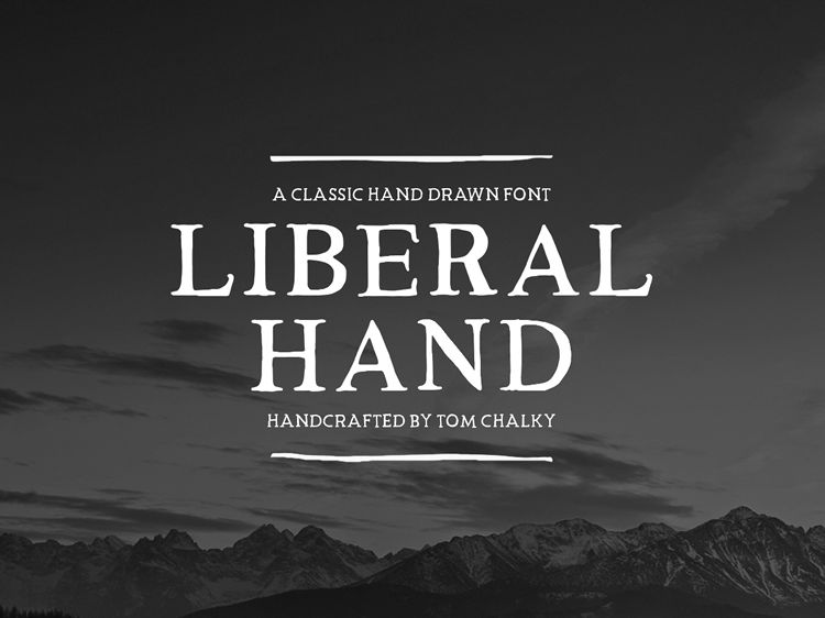 Liberal Hand Serif Free Font