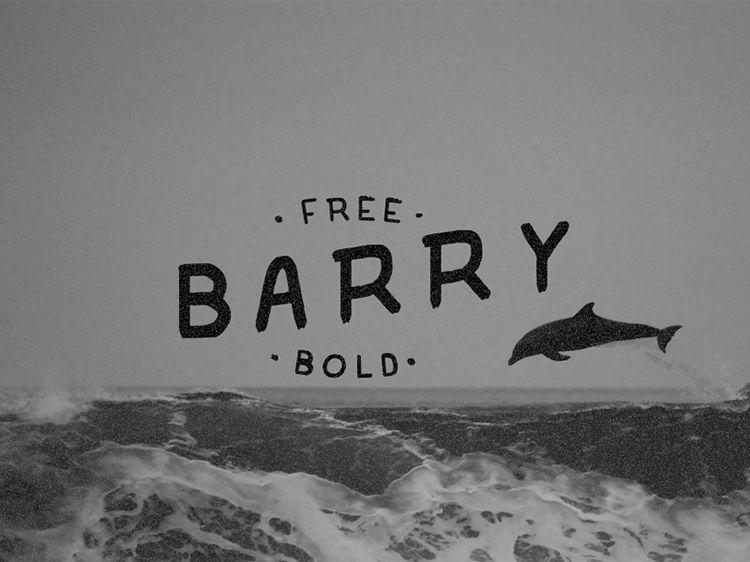 Barry Free handwritten Font Bold