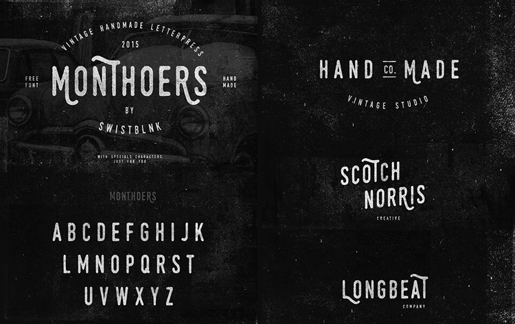 20 Beautiful & Free Hand-Drawn Fonts