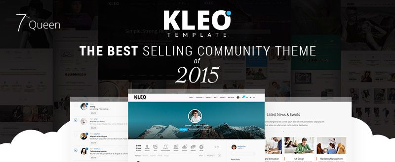 KLEO - Next Level WordPress Theme