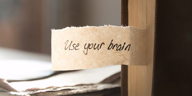 Use your brain, hand lettering, and book