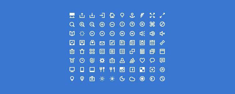 web font free Premium Pixels Mini Icons
