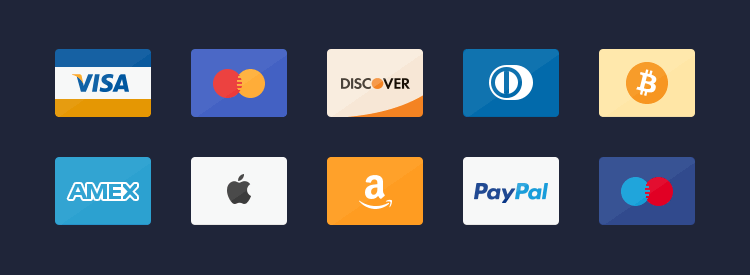 Freebie Credit Cards Icons psd
