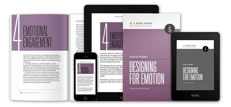 Designing For Emotion book for web designers