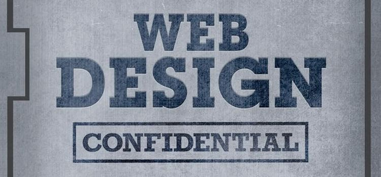 Web Design Confidential book for web designers