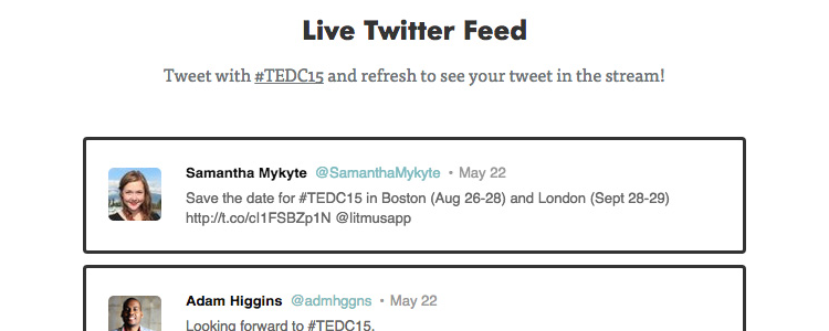 How to Code A Live Dynamic Twitter Feed in HTML Email resources web design weekly