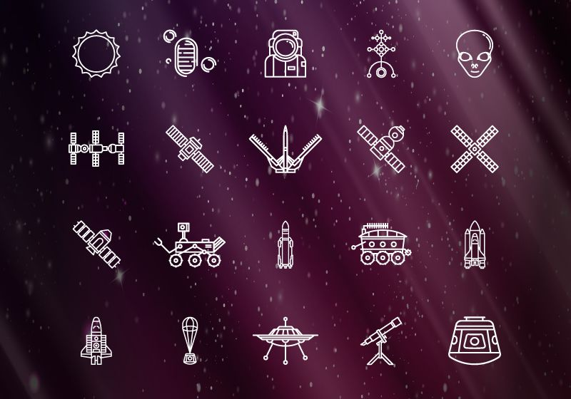 Space iconsthumb