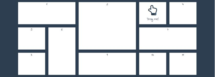 gridstack.js jQuery plugin widget layouts