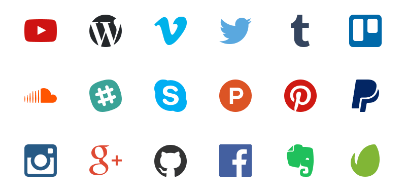 Freebie Nucleo 40 Social Icons in Three Styles AI Sketch