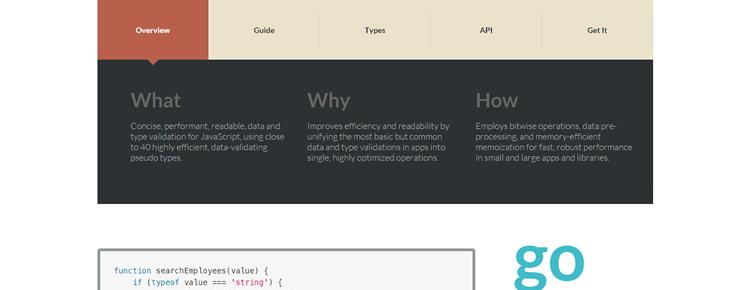 xtype.js, elegant & highly efficient data validation for JavaScript