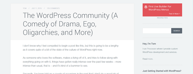 The WordPress Community: A Comedy of Drama