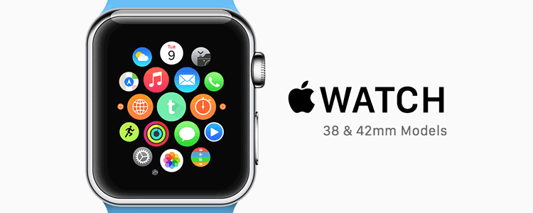 Apple Watch + Icon Mockup