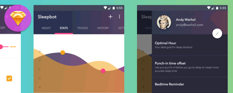 Sleepbot Android Template