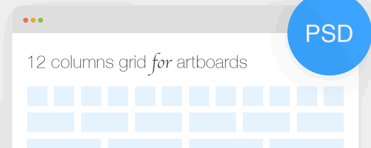 Bootstrap 12 Column Grid for Artboards