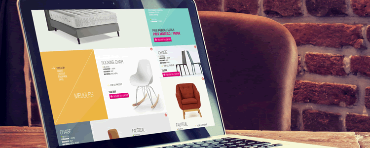 Photoshop PSD Free Ecommerce Homepage Template