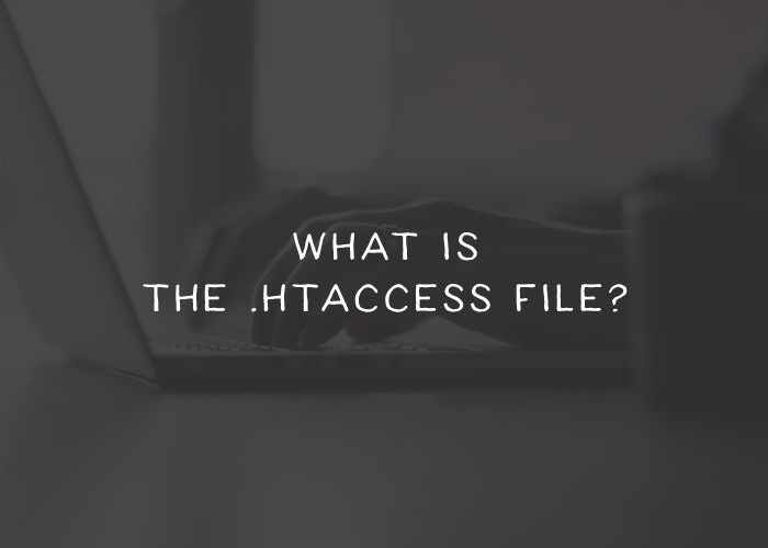What is the .htaccess file?
