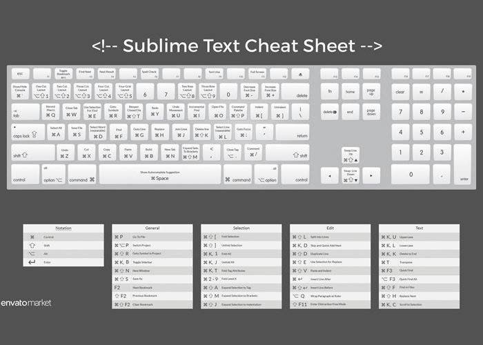 Freebie: Sublime Text Desktop Wallpaper
