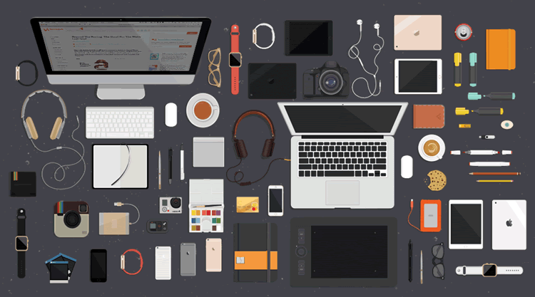 Freebie: A Workspace Illustrations Kit