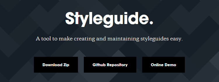 Styleguide tool to make creating and maintaining styleguides easy
