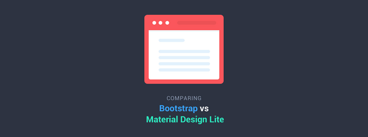Comparing Bootstrap With Google's New Material Design Lite