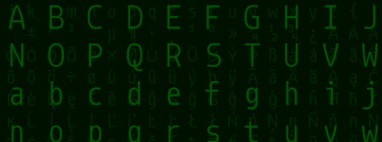 Designing a Coding Font