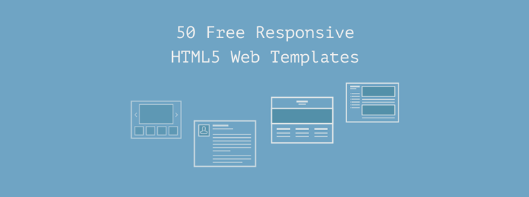 50 Free Responsive HTML5 Web Templates
