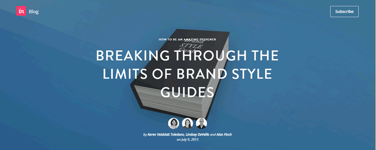Breaking Through the Limits of Brand Style Guides