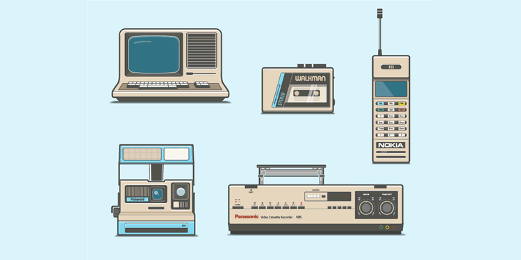 Freebie 80s Electronics AI