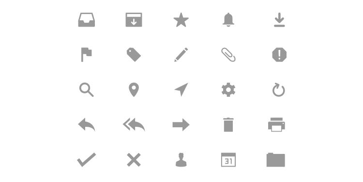 Freebie Email Icons AI
