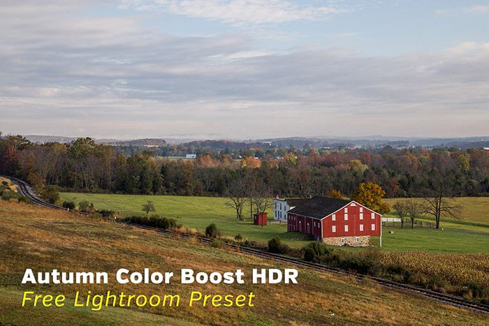 Autumn Color Boost Free HDR Lightroom Preset