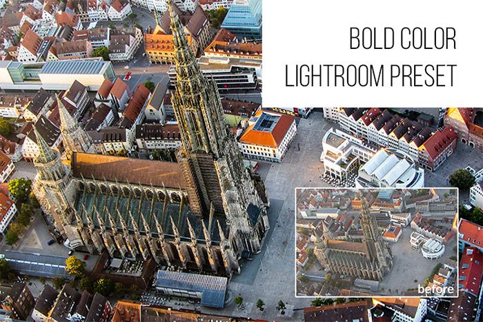 Bold Color Lightroom Preset
