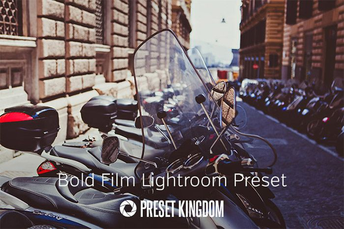 Bold Film Lightoom Preset