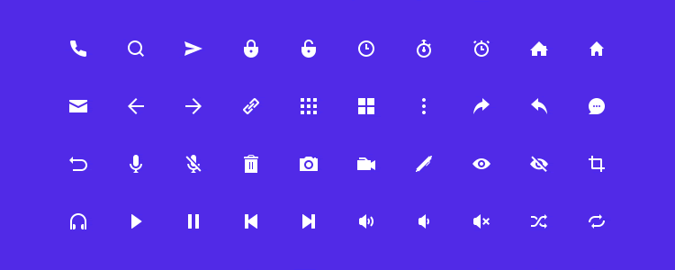 Geoph Icon Set