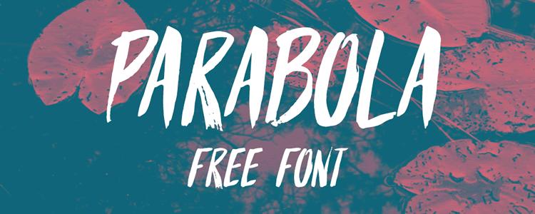 Parabola Handwritten Font