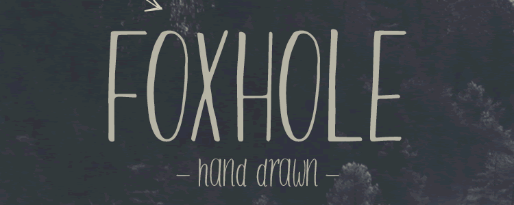 Foxhole Typeface