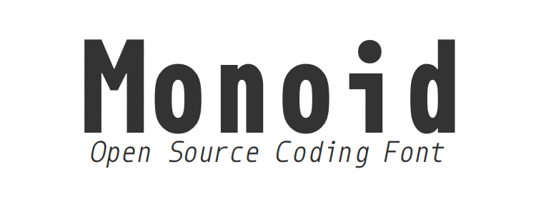 Monoid Open Source Coding Font