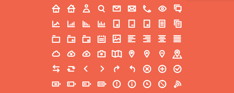 Icon Set by Sonia Dunaieva