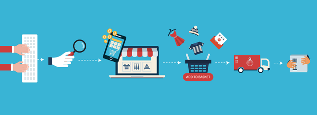 Online Shopping Mobile Marketing