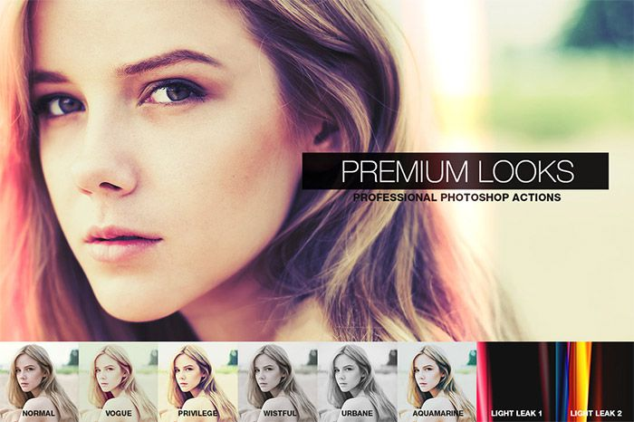 Premium Looks Photoshop Actions