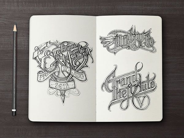 sketch logo sketchbook