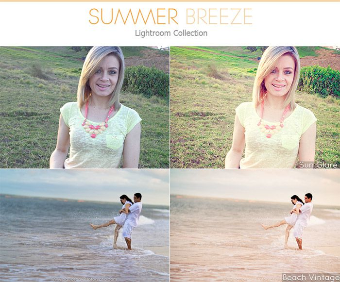Summer Breeze Lightroom Presets