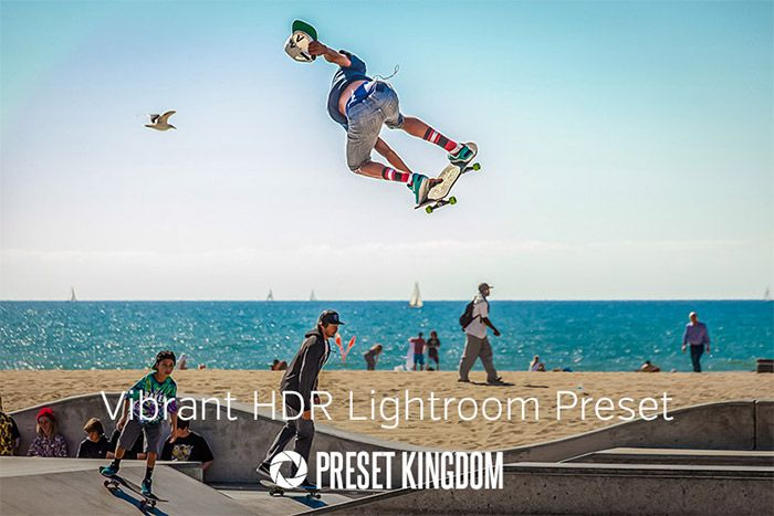 Free Vibrant Colors HDR Lightroom Preset