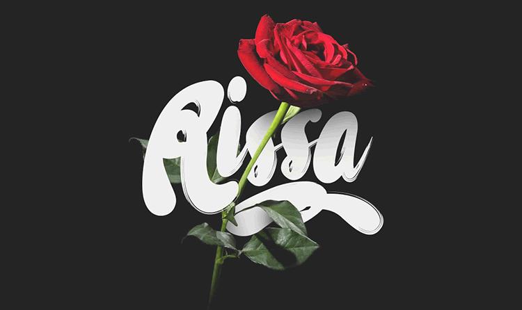 Freebie  Rissa Typeface